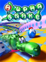 Alpha Snake J2ME Title screen