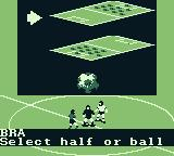 FIFA International Soccer Game Boy You won the coin toss. Choose what side of the field you want.