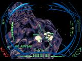 "DarXide SEGA 32X Crosshairs only appear, ""projected"" on your target, when you get close."