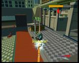 JSRF: Jet Set Radio Future Xbox Fear of heights is something you shouldn't have, as our hero is as good as with a parachute on his back all the time.