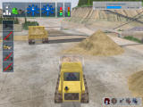 Bagger-Simulator 2008 Windows Driving a digger (demo version)