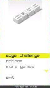 Edge J2ME Main menu