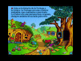 The Tortoise and the Hare Windows 3.x Story can be in Spanish both on screen and spoken