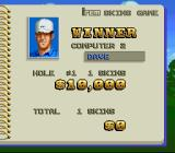 The Irem Skins Game SNES Winner of the first hole