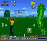 The Irem Skins Game SNES Missing the ball completely