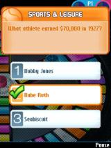 Trivial Pursuit J2ME A correctly answered question
