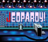 Jeopardy! SNES Title screen