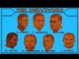 Lost Patrol Amiga The list of survivors from the crash, the team you will lead.