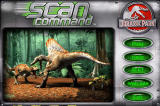 Scan Command: Jurassic Park Windows Main Menu