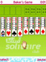 365 Solitaire Club J2ME Baker's Game