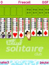 365 Solitaire Club J2ME Freecell