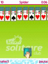365 Solitaire Club J2ME Spider