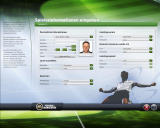FIFA Manager 09 Windows Creation of the player character (demo version)