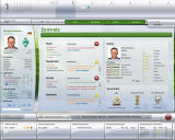 FIFA Manager 09 Windows This overview shows the player potential problems (demo version)