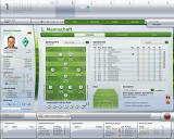 FIFA Manager 09 Windows The lineup and tactics menu is the same for every team, including youth (demo version)