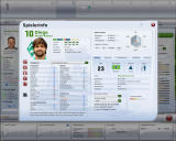 FIFA Manager 09 Windows Overview of a player's statistics (demo version)