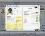 FIFA Manager 09 Windows Negotiating with a player (demo version)
