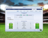 FIFA Manager 09 Windows Match statistics (demo version)