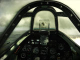 Wings of Prey Windows In cockpit hitting an HE 111 German bomber (demo)
