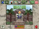 3-D Dinosaur Adventure DOS Main menu