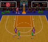 Super Slam Dunk SNES Looking for an open teammate