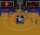 Super Slam Dunk SNES Foul