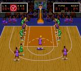 Super Slam Dunk SNES Free throw