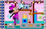 Mickey's Jigsaw Puzzles DOS Puzzle 10 Minnie Mouse