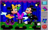 Mickey's Jigsaw Puzzles DOS Animation of magic items that float out of the hat