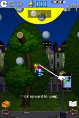 Grappling Action: Moon Dancer iPhone You can snag the coins by tapping them