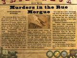 Dark Tales: Edgar Allan Poe's Murders in the Rue Morgue (Collector's Edition) Windows Newspaper