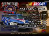 NASCAR 98 (Collector's Edition) PlayStation NASCAR options