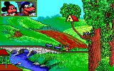 Goofy's Railway Express DOS Country side screen