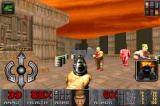 The Ultimate DOOM iPhone So many enemies and only a pistol available.