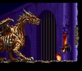 Demon's Crest SNES Boss battle - dragon