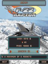 F-22 Raptor J2ME Buying new equipment in the armory