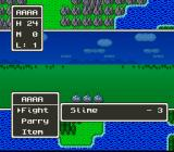 Dragon Quest V: Tenkū no Hanayome SNES Fighting