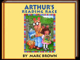 Arthur's Reading Race Windows Title