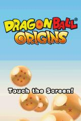 Dragon Ball: Origins Nintendo DS Title screen.