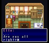 Terranigma SNES Starting the game