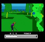 Greg Norman's Golf Power NES The swing meter