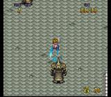 Terranigma SNES Fighting tough big knights