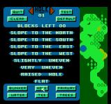 Greg Norman's Golf Power NES Different options for the hole
