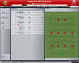 Worldwide Soccer Manager 2009 Windows The tactics menu (demo version)