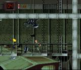 Alien³ SNES The grenade launcher blows the bugs apart.
