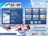 SC:09 - Ski-Challenge Windows The player can choose between three weather conditions
