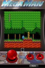 Mega Man 2 iPhone Woodman's Stage (portrait mode)