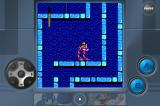 Mega Man 2 iPhone Flash Man's stage (in landscape mode)