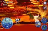 Earthworm Jim: Special Edition iPhone Level 2's mid level boss: a snowman!