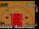 NBA in the Zone '98 PlayStation Top view